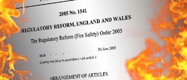 The regulatory Reform Safety Order 2005